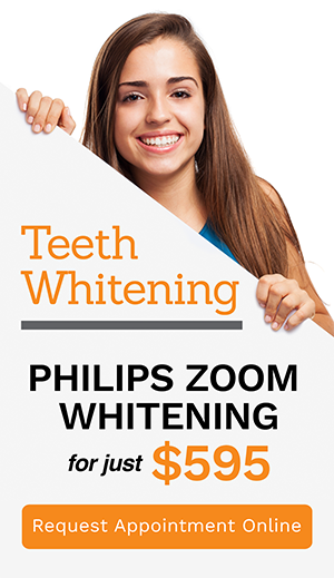 Philips Zoom Whitening Banner | Dentist Campbelltown